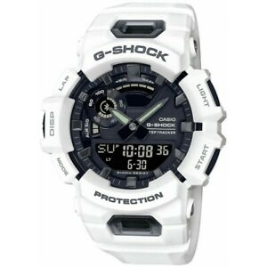 Casio Men Watch G-SHOCK Connected App GBA-900-1AER White G-Squad Bluetooth