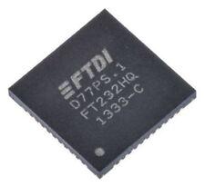 Ftdi Chip FT232HQ-REEL USB a Serial Uart RS232, RS422, RS485 12Mbit / S, 1.8