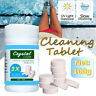 (100 Tablets) Pool Sanitizing Tablet Swimming Pool Effervescent Tablets Clean