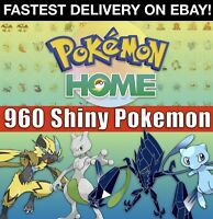 Pokemon Home All 807 SHINY Full Living Dex | Unowns, Legendaries & Event! 6IV
