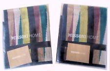 MISSONI HOME CONFEZIONE REGALO SINGOLA DUE ASCIUGAMANI OSPITI ROMY 170  CINIGLAI