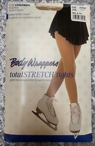 Bodywrappers C10 Footed Ice skating tights M/L Age 8-10