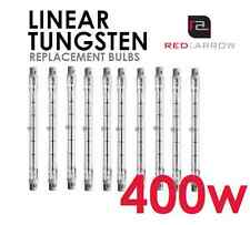 400W (500W Equivalent) 240V 118mm Tungsten Halogen (x1)
