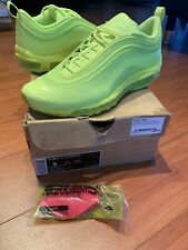 Nike Air Max 97 Hyperfuse 2012 Neon Green Sz 9 Hyperfuse DS