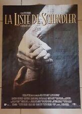 Movie Poster  La Liste De Schindler Schindler List By Steven Spielberg 1993