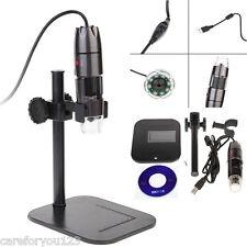20X-800X 8 LED USB Digital Microscope Endoscope Optical Video Magnifier Camera