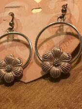 Brighton Earrings Petal Pusher Nwt