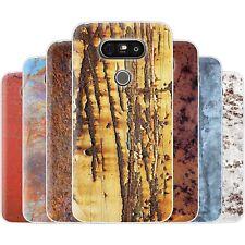 dessana Metallische Muster Silikon Schutz Hülle Case Handy Tasche Cover für LG
