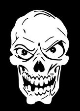 high detail airbrush stencil  grinning skull  FREE UK POSTAGE