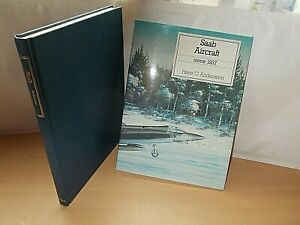 Saab Aircraft Since 1937 by H.G. Andersson (Hardcover, 1989) In V.G.C.