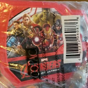 Decopac marvel avengers cake topper decorations set age of ultron new sealed
