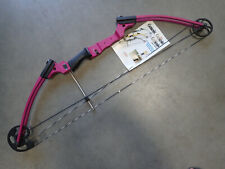 Genesis Archery Original Bow Kit Youth Right Hand Compound Bow PINK