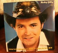 Mickey Gilley You Really Got A Hold On Me LP 1982 Epic PROMO Cover VG+ Vinyl NM