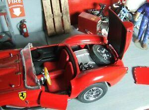1958 Ferrari Testa Rosa Danbury Mint + 1963 Ferrari LM 1/24 diecast