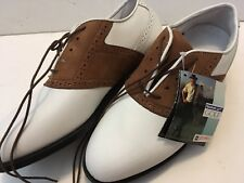 NWT VINTAGE REEBOK Pittards Gore-Tex Golf Shoes Cleats Men's Size 8