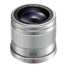 Panasonic 42.5mm Lumix G f/1.7 Asph. O.I.S. Lens - silver