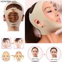 Facial Thin Face Slimming Bandage Mask Belt Shape Lift Reduce Double Chin.