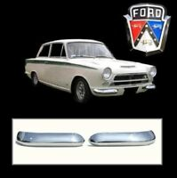 Ford Lotus Cortina MK1 Front Quarter Bumpers