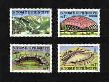 St Thomas & Prince Islands 1980 Olympic Games short set of 4 values MNH