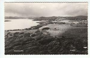 Rockcliffe Kirkcudbright 1953 Real Photograph Valentines B8593 Old Postcard
