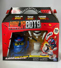 Ninja Bots 1-Pack Hilarious Battling Robot Blue with 3 Weapons Trainer - NEW!