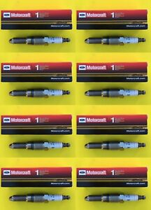 New SET OF 8 MOTORCRAFT Platinum Spark Plug for Ford - Mercury - Avanti Vehicles
