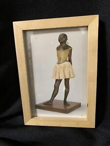 Edgar Degas 'The Little Fourteen-Year-Old Dancer' Sculpture 4x6 FRAMED PRINT