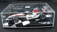 Minichamps F1 ◊ B-A-R Honda 007 ◊ T.Sato #4 2005◊ 1/43 neuf boxed/boite MIB