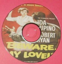 FILM NOIR 252: BEWARE, MY LOVELY 1952 Harry Horner Ida Lupino, Robert Ryan