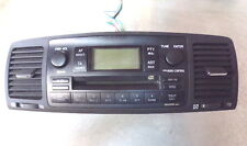 15693 H6F 2002-2006 TOYOTA COROLLA STEREO RADIO CD PLAYER WITH DASH AIR VENTS
