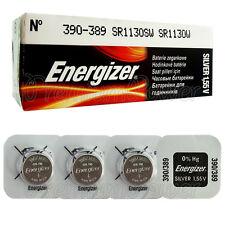 4 x Energizer Silver Oxide 390/389 batteries 1.55V SR1130SW V389 SR54 EXP:2020