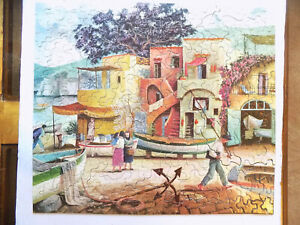 Vintage Guild Whitman Picture Puzzle 340 Pieces Marina Grande Capri