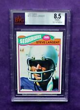 1977 Topps Steve Largent Rookie  #177 BVG 8.5 (NM/MT+)  ***Perfect Centering***