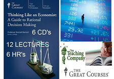 The Great Courses: (THINKING LIKE AN ECONOMIST GUIDE 2 DECISION MAKING) DVD New