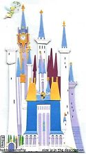 EK SUCCESS JOLEE'S  3-D DISNEY STICKERS - PRINCESS TINKERBELL TINKER BELL CASTLE