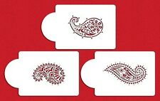 3 PC Damask Paisley Decorating Stencils - Custom Decorating Stencils from Bakell
