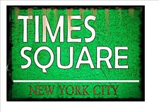 Times Square New York Vintage Style Street Sign reproduction Antique Style Sign
