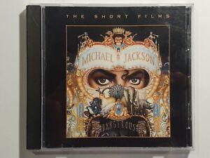 MICHAEL JACKSON - DANGEROUS - THE SHORT FILMS DVD 2008 REGION 0 PAL CD CASE