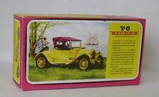 Repro Box Matchbox MOY Nr.06 1913 Cadillac Blisterbox