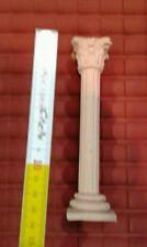 1 colonna terracotta x tempio  h 14 d2 cm , nativita presepe shepherd crib