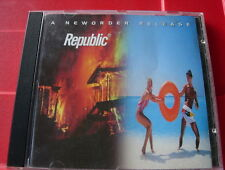 New Order Republic CD NEW SEALED Regret/World/Spooky/Ruined In A Day+