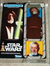 "Vintage Star Wars 1979 Kenner AFA 80 Ben Obi-Wan Kenobi 12"" inch doll MISB Boxed"