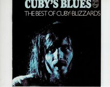 CD CUBY AND THE BLIZZARDS	cuby's blues	HOLLAND EX (B0967)