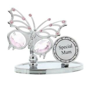 CRYSTOCRAFT BUTTERFLY SPECIAL MUM - CRYSTALS FROM SWAROVSKI®