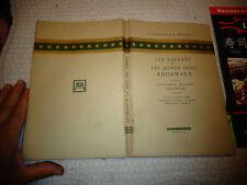 LES ENFANTS ET JEUNES GENS ANORMAUX P Nobécourt L Babonneix 1939 ( Pédiatrie )
