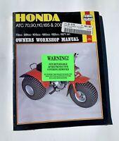 Honda ATV 3 Wheeler Work Manual Mint Never Opened