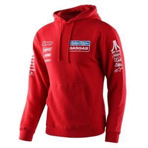 Troy Lee Designs Pullover Hoody 2021 TLD GASGAS Team - Red