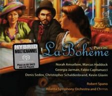 PUCCINI / ASO / SPANO-LA BOHEME  NEW Sealed 2 Disc Hybrid SACD Set