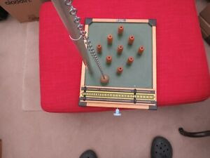 Vintage Table Top Pub Skittles Family Game by KAY of London