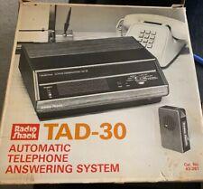Radio Shack TAD-30 Automatic Telephone Answering System 43-261